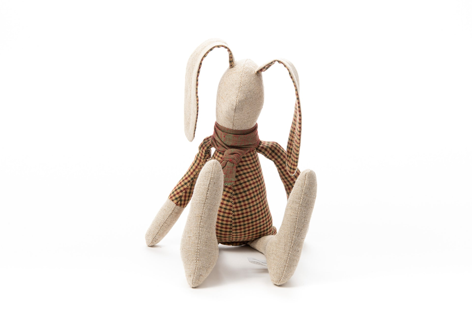 Handmad doll, Rabbit doll, Fabric doll, Stuffed animal, Handmade bunny, Eco friendly gift, Soft toy, Zero waste gift, Home Decor toy, Hare