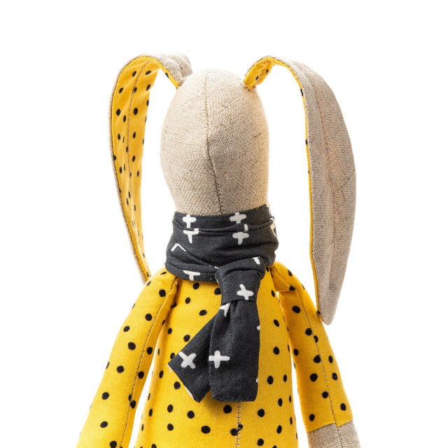 Doll toy, Stuffed animal, Handmade rabbit, Plush bunny, Rabbit doll, Fabric doll, Handmade Plush toy, Rag doll, Baby room décor, Modern doll