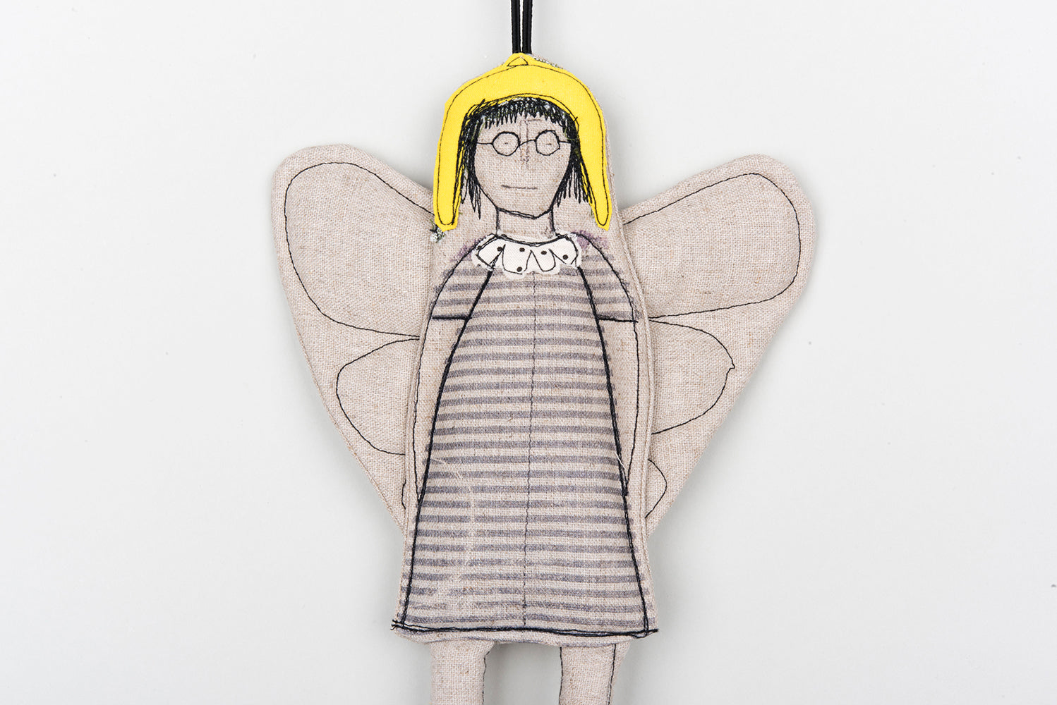 Valentines day gift, Handmade ornament, Angel wall décor, Guardian Angel, Textile doll, Home decor doll, Angel doll,Fairy doll,Hanging angel