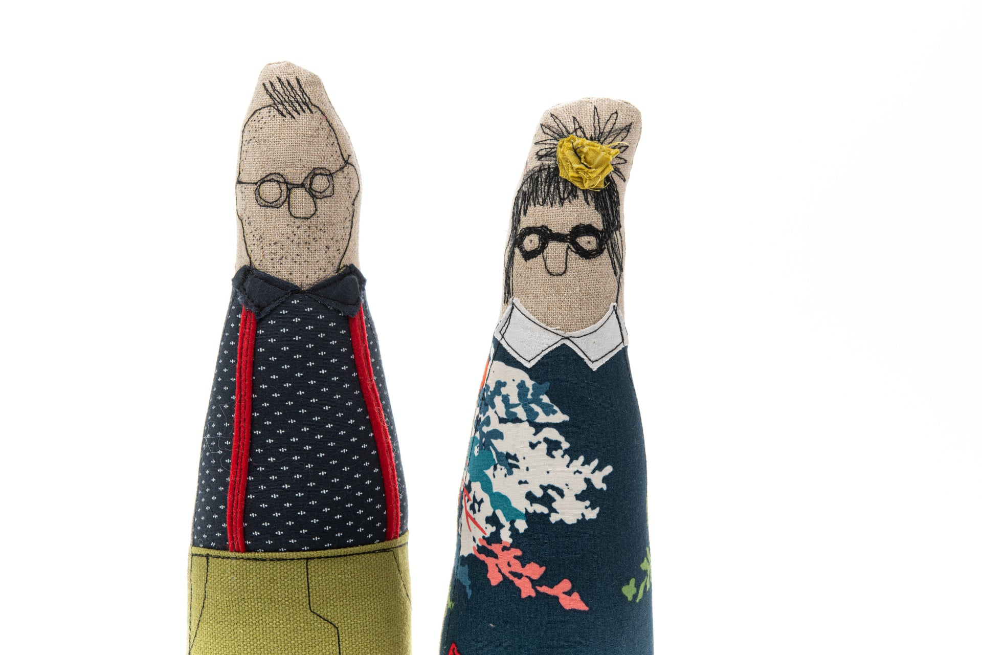 Family portrait Couple dolls Couple gift Handmade decor dolls Hipster Family Cloth Doll Wedding parents Personalised gifts Customize dolls