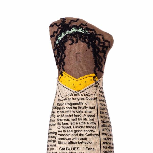 African American , Woman doll , BFF gift , Dreadlocks Doll , Custom Portrait , Fabric brown doll , Handmade Toy , Detail portrait , Decor doll , Gift for mom