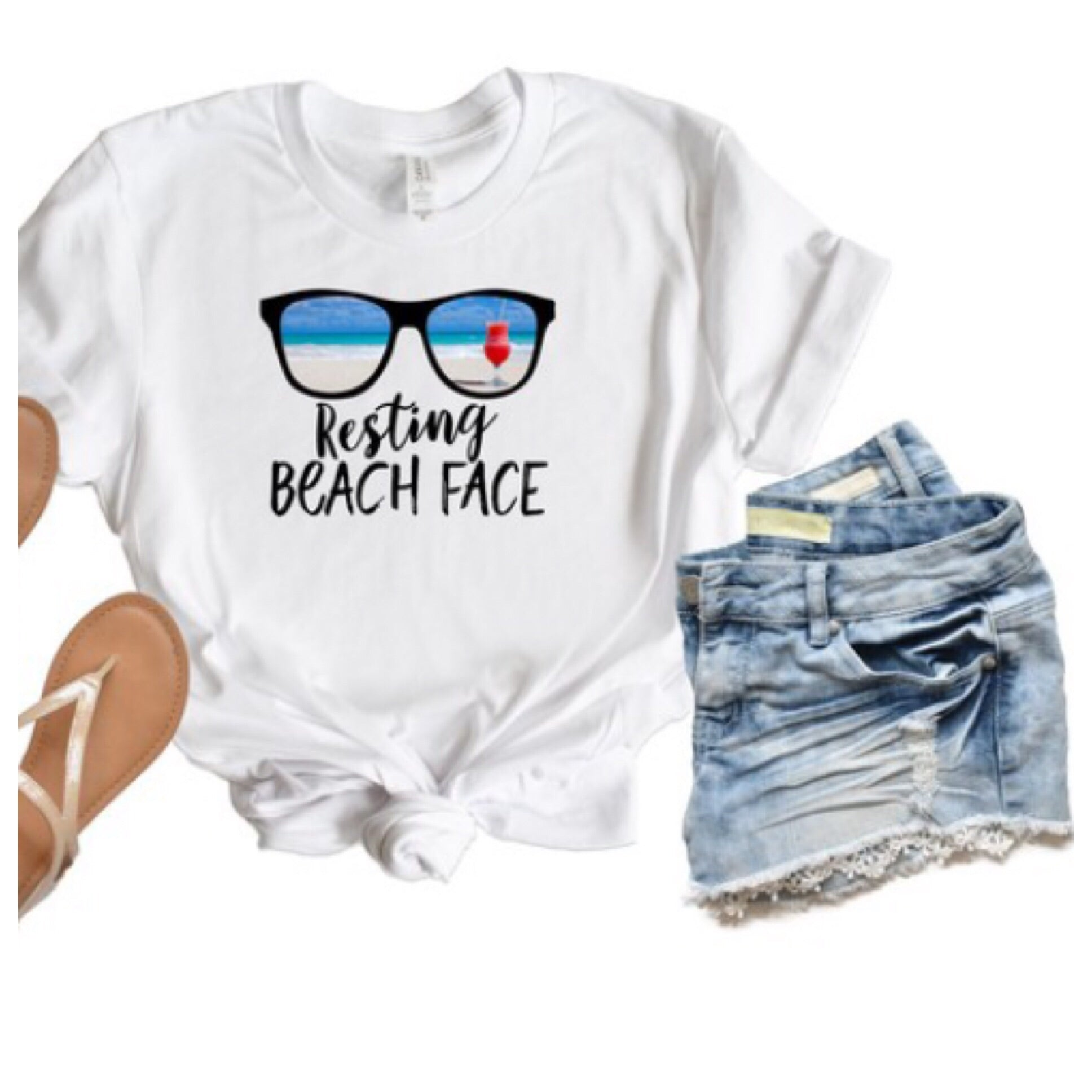 Beach Face T-Shirt