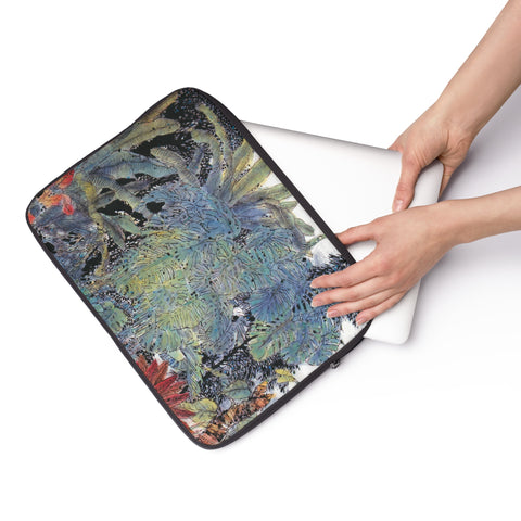 "A Summer Day Laptop Sleeve-15""-Zen Art Shop"