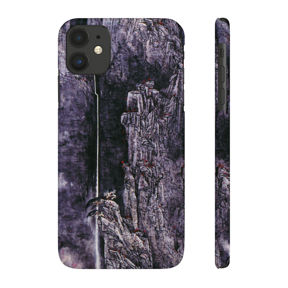 Spirit of the Mountain Phone Cases-iPhone 11-Zen Art Shop