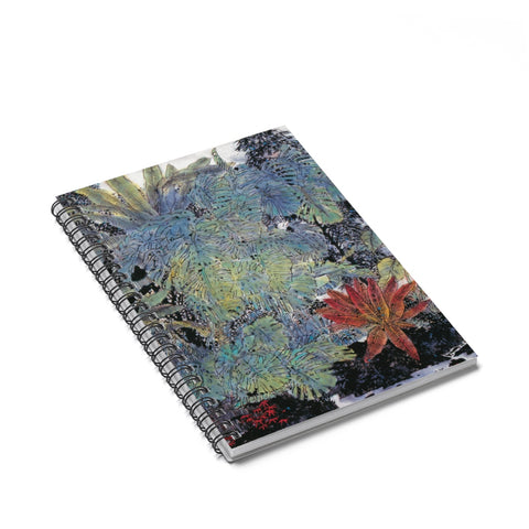 A Summer Day Notebook-Spiral Notebook-Zen Art Shop