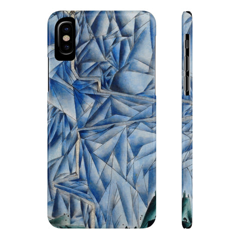 The Mountain Path Phone Cases-iPhone X Slim-Zen Art Shop