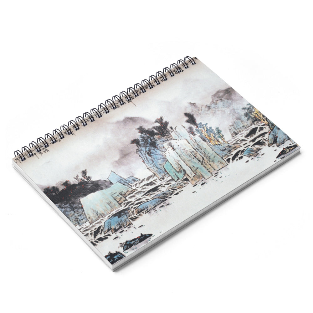 Mountain and Water Notebook-Spiral Notebook-Zen Art Shop