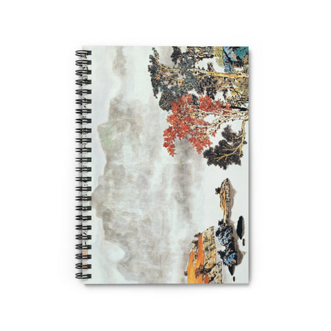 Quiet and Remote Notebook-Spiral Notebook-Zen Art Shop