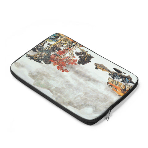 Quiet and Remote Laptop Sleeve-Zen Art Shop