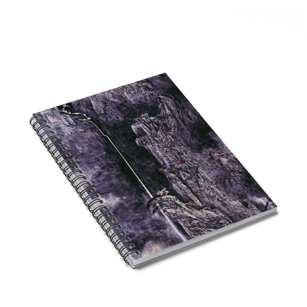 Spirit of the Mountain Notebook-Spiral Notebook-Zen Art Shop