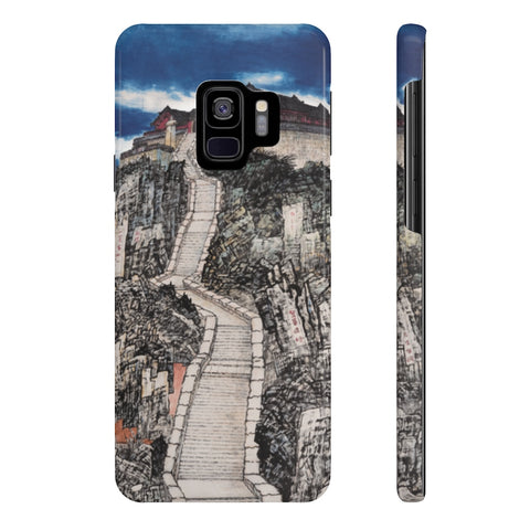 Jade Emperor's Peak Phone Cases-Samsung Galaxy S9 Slim-Zen Art Shop