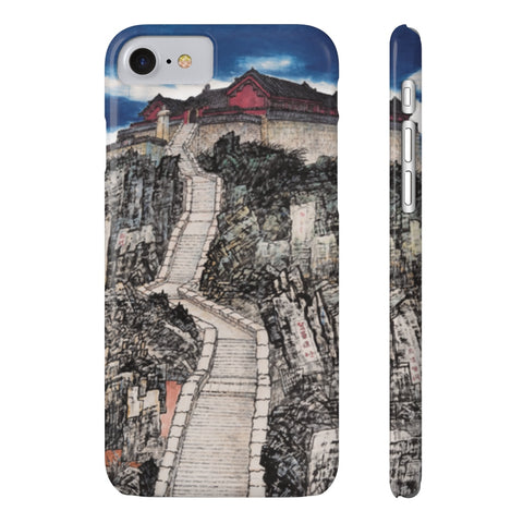 Jade Emperor's Peak Phone Cases-iPhone 7, iPhone 8 Slim-Zen Art Shop