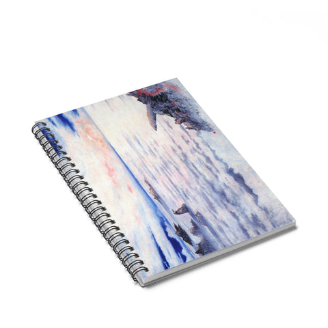 The Sea of Cloud Notebook-Spiral Notebook-Zen Art Shop