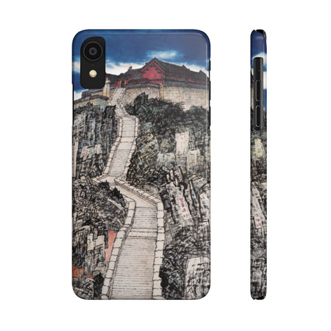 Jade Emperor's Peak Phone Cases-iPhone XR-Zen Art Shop