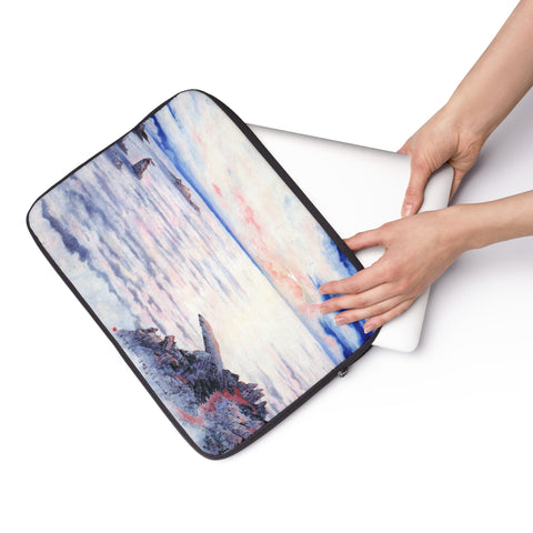 "The Sea of Cloud Laptop Sleeve-13""-Zen Art Shop"