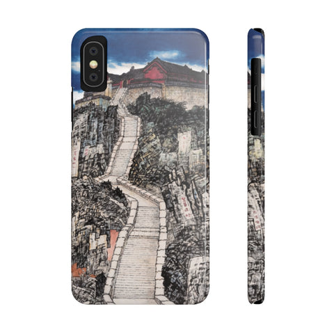 Jade Emperor's Peak Phone Cases-iPhone XS-Zen Art Shop