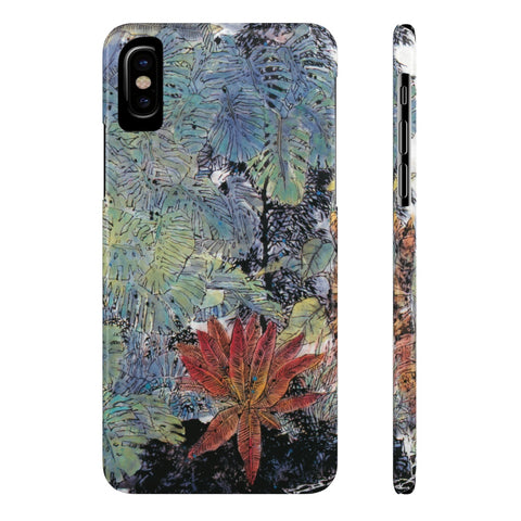 A Summer Day Phone Cases-iPhone X Slim-Zen Art Shop