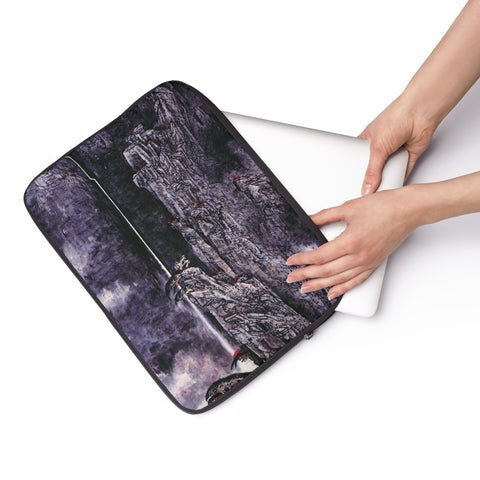 "Spirit of the Mountain Laptop Sleeve-15""-Zen Art Shop"