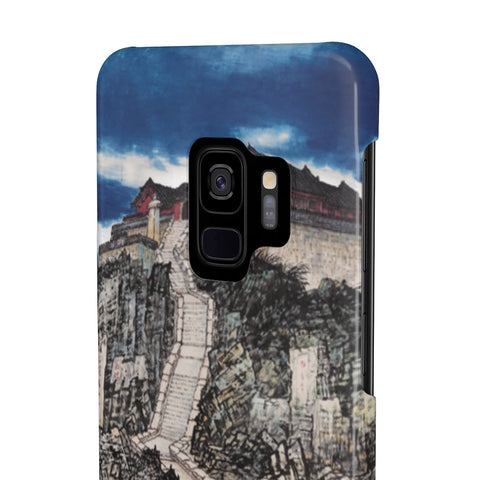 Jade Emperor's Peak Phone Cases-Zen Art Shop
