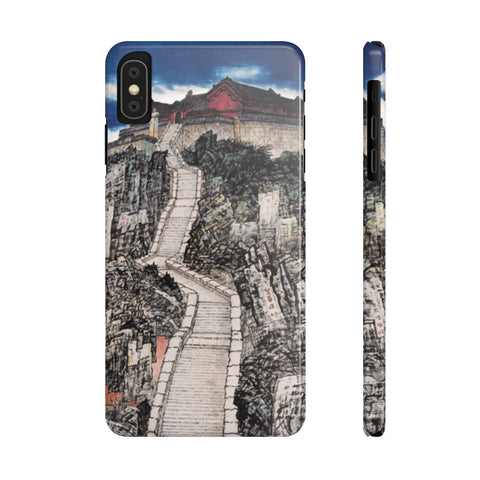 Jade Emperor's Peak Phone Cases-iPhone XS MAX-Zen Art Shop