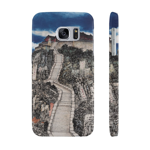 Jade Emperor's Peak Phone Cases-Samsung Galaxy S7 Slim-Zen Art Shop