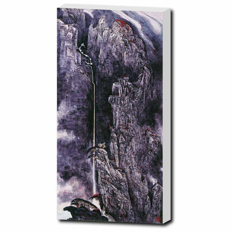 "Spirit of the Mountain-10""x20""-Zen Art Shop"