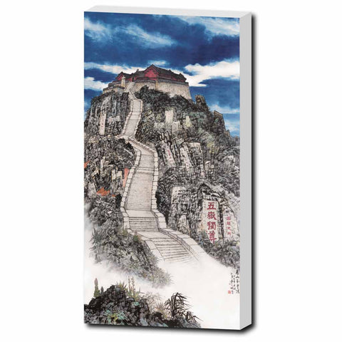 "Jade Emperor's Peak-10""x20""-Zen Art Shop"