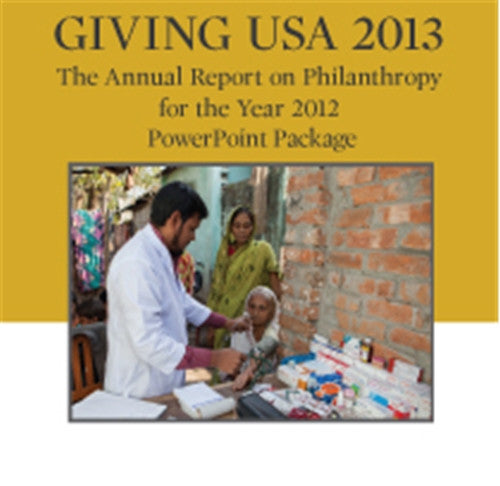Giving USA 2013 PowerPoint Package