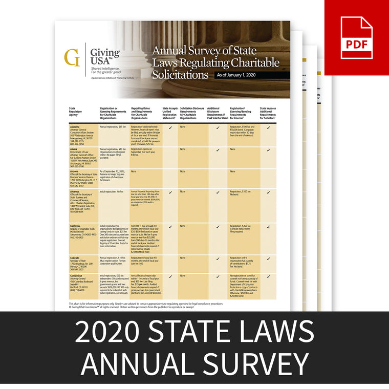 2020 Annual Survey on State Laws (Library Rate)