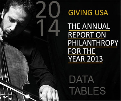 Giving USA 2014 Data Tables