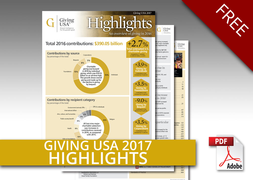 Giving USA 2017 Report Highlights