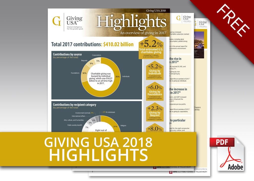 Giving USA 2018 Report Highlights