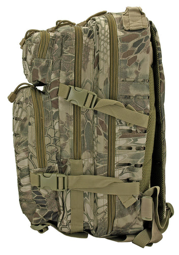 Medium Assault Tactical Backpack - Green Web Camo