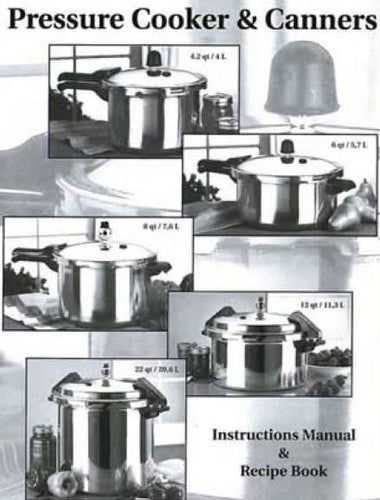 Mirro Pressure Cooker & Canners Instructions Manual & Recipe Book - PDF file -Instant Download - 1.95