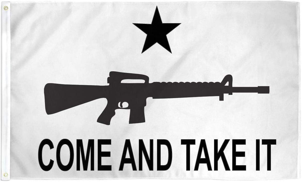 Come and Take It 3'x5' Gonzales Texas Historical Indoor/Outdoor Display Flag
