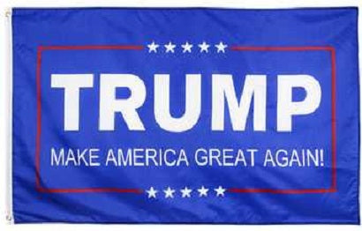 MAGA - MAKE AMERICA GREAT AGAIN - TRUMP - 2020 3'x5' Full Sized Flag