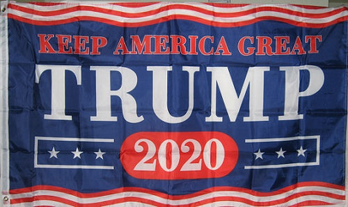 TRUMP - KEEP AMERICA GREAT - 2020 3'x5' Flag #072