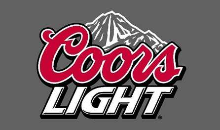 COORS Light Beer Flag 3' x 5' Advertising Display Man Cave Banner Wall Poster