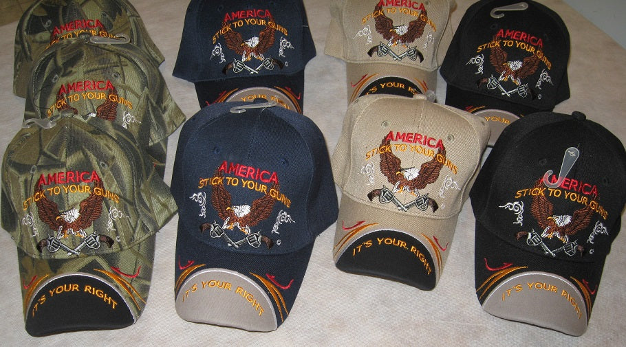 America Stick To Your Guns Its Your Right Ball Cap Hat