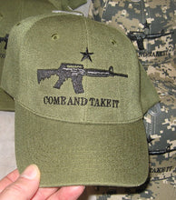 Come and Take It with Gun and Texas Star Embroidery HAT