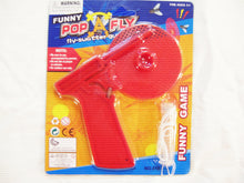 2pc POP-A-FLY! The Fly-Swatter-Gun That Really Works! Red, Green, Purple