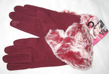 Womens Plush Touch Screen Finger Faux Fur Fall/Winter Gloves
