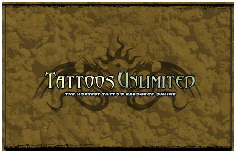 Tattoos Unlimited The Hottest tattoo Resource Online - PDF file for Instant download Only 1.95 USD