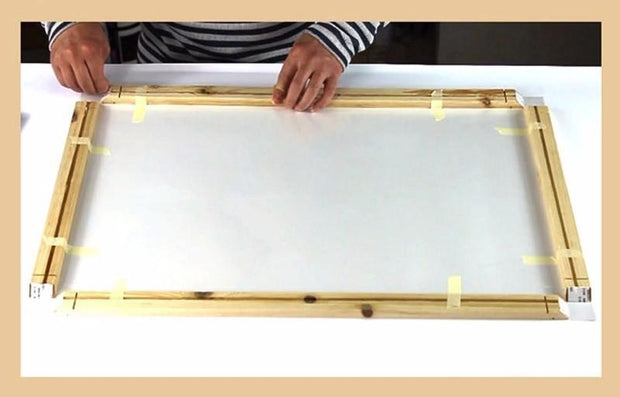"24""(60cm) Easy DIY Wooden Frame For Oil Paintings, Canvas Posters and Prints"