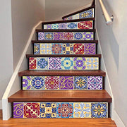 3D DIY Traditional Mexican Stair Sickers 3D Stickers