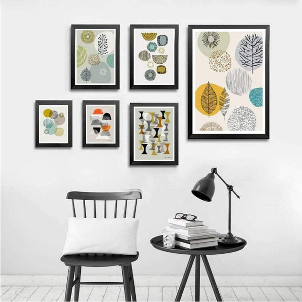 Abstract Scandinavia Canvas Prints Canvas