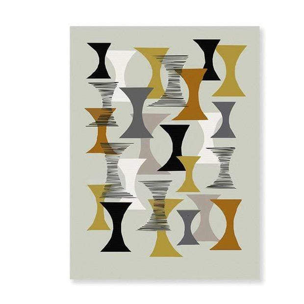 "Abstract Scandinavia Canvas Prints 8""x10"" / PICTURE 9 Canvas"