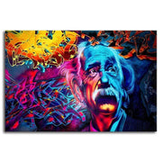 Albert Einstein Canvas Art canvas