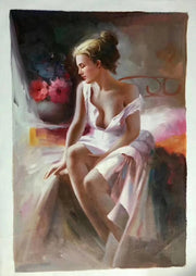 Alluring Figures of Women Oil Painting Canvas Oil Painting
