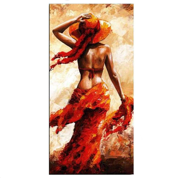 An Attractive Woman Figure Oil Painting Oil Painting